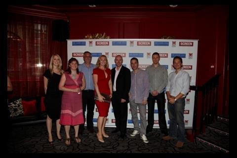The team from De Lane Lea